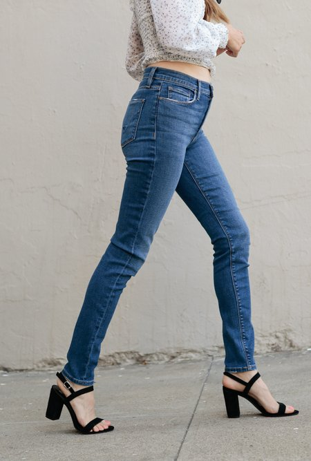 Hudson Jeans Barbara High Waist Super Skinny Jean - Excursion