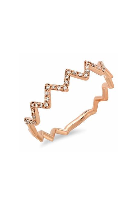 Sachi Jewelry Zig Zag Ring