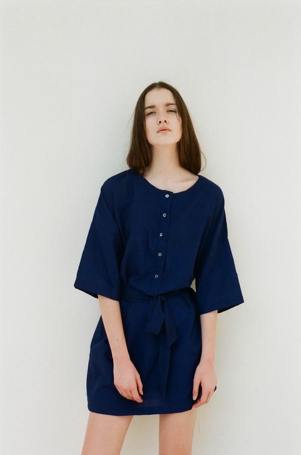 Seeker Studios Two-way Button Dress