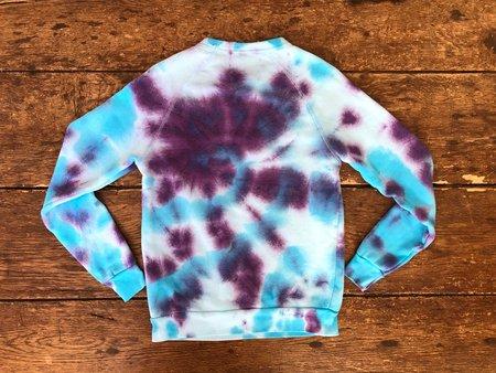 The Masshole Project Masshole Sweatshirt - Grape/Aqua Tie-Dye