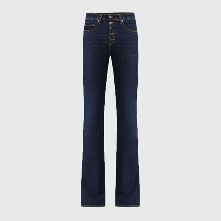 Veronica Beard Beverly High Rise Skinny Jean - Prussian Blue