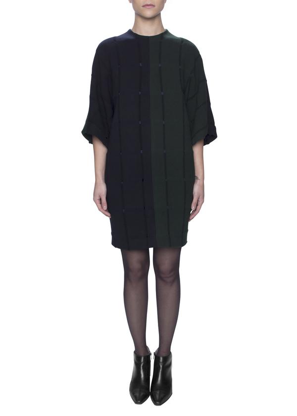 Vincetta Plaid Shift Dress