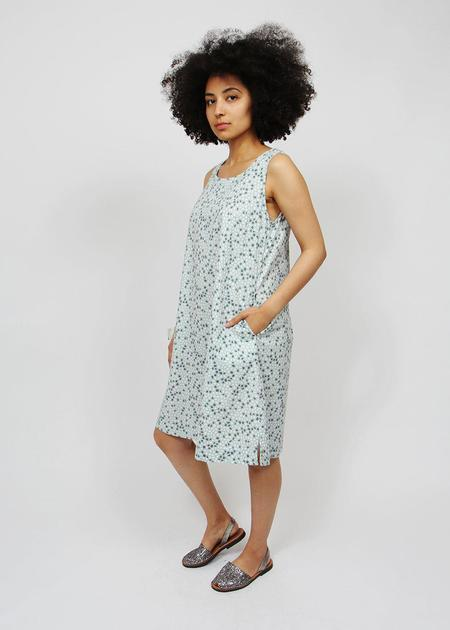 Two Danes Telma Dress - aqua seashore