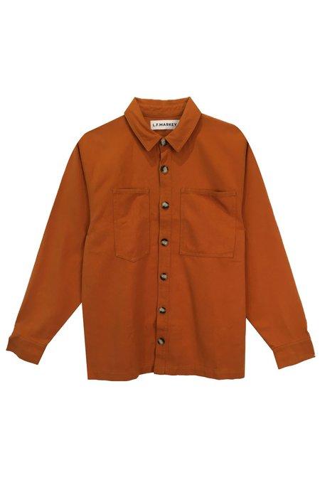 L.F.Markey Caroona Shirt - Chestnut