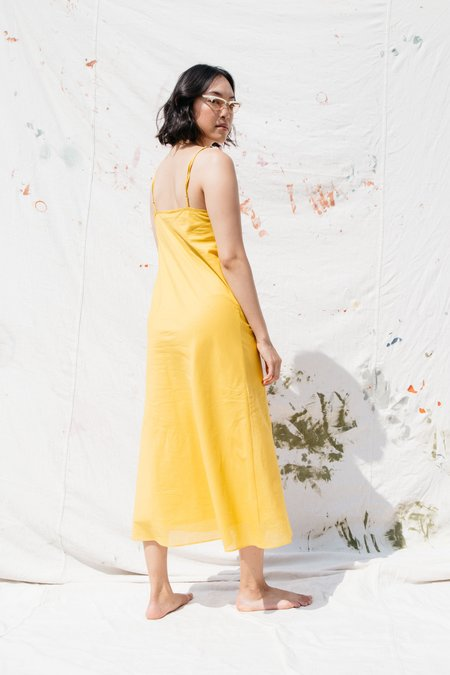 Nikki Chasin Rumi Slip Dress - Saffron