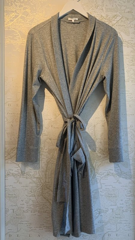 Skin Odiana Pocket Pima Cotton Robe