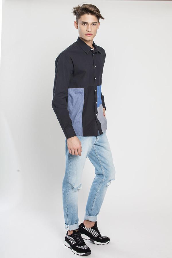 Men's SOULLAND Miller Shirt in Multi