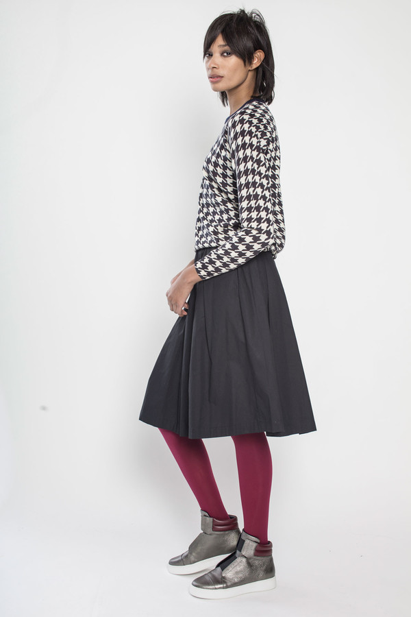 KOWTOW On the Surface Skirt in Black