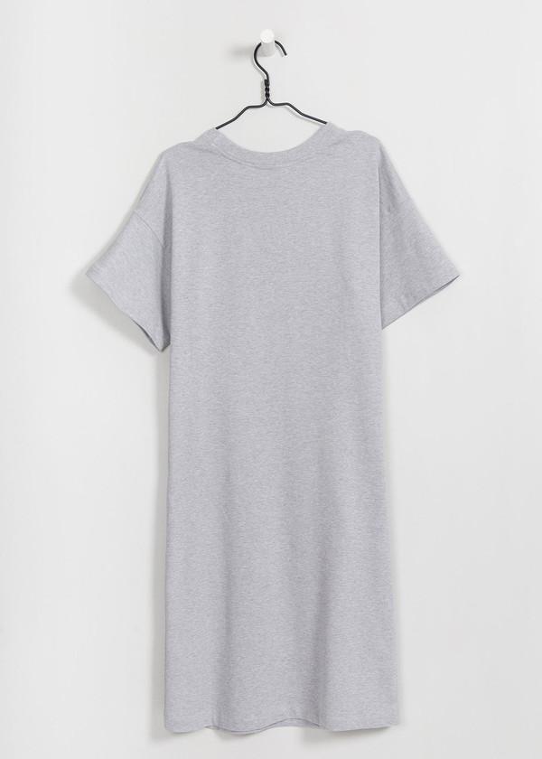 Kowtow Ruler Dress in Grey Marle