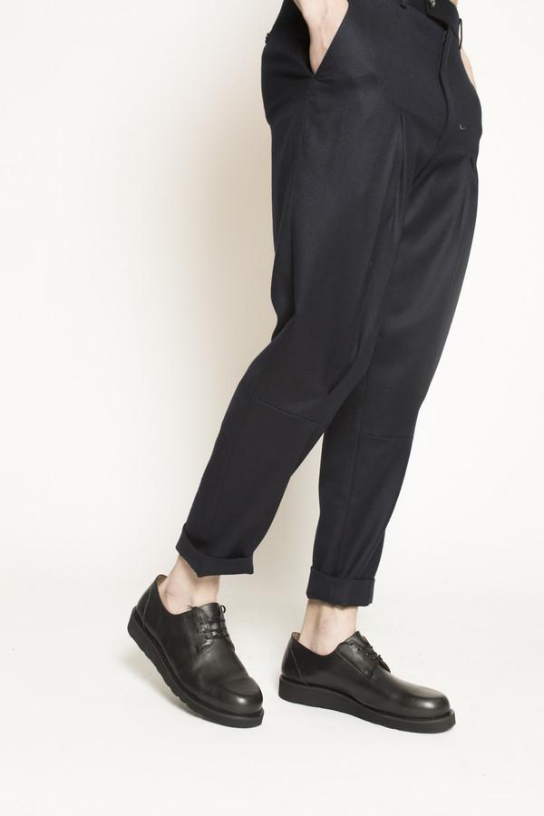 Soulland Strue Shoe with Vibram Sole in Black