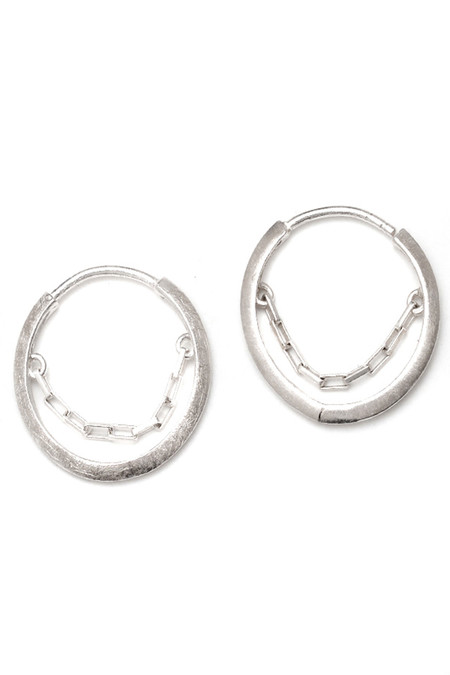 REBEKKA REBEKKA The Lucky Wheel Earrings in Sterling Silver