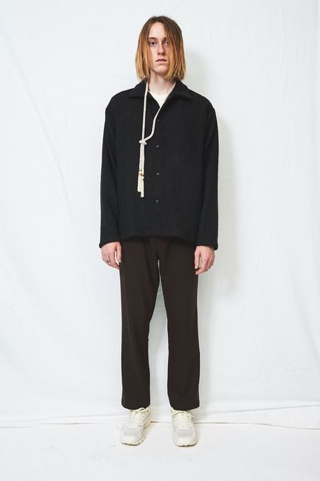 Assembly Wool Snap Shirtcoat - Grey