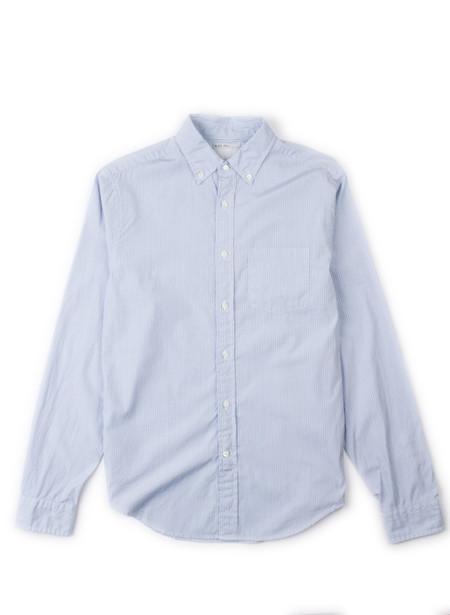 Men's Alex Mill Stripe School Shirt Blue/Navy/White