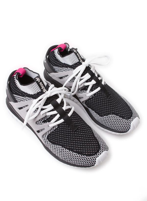 Men's Adidas Tubular Nova Primeknit Vintage White/Black