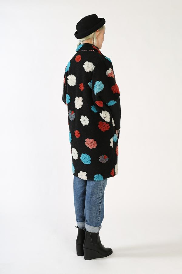 Kurt Lyle JASPER Single Button Dolman Fold Jacket - CLOUD