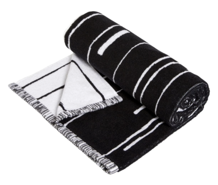 OYOY Puun Bath Towel - Black/White
