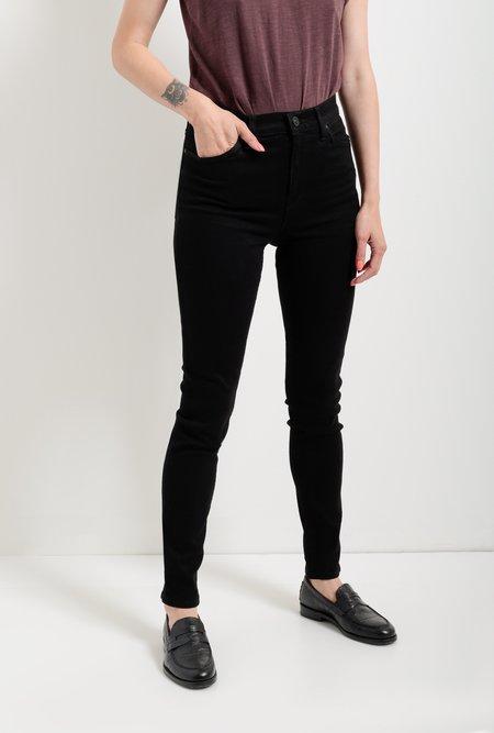 Hudson Jeans Barbara High Waist Super Skinny Jean - Black