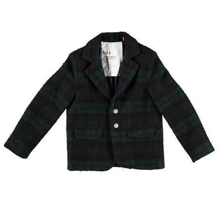 Kids caroline bosmans wool blazer - green