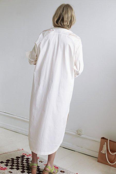 Mr. Larkin paloma dress - paper applique