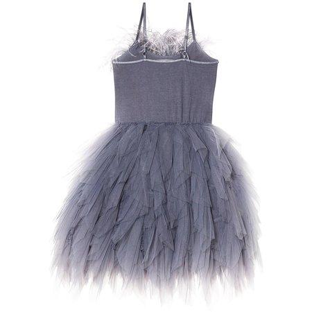 Kids Tutu Du Monde Floating Feathers Tutu Dress - Twilight