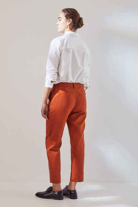 Kowtow Edition Pant in Sienna