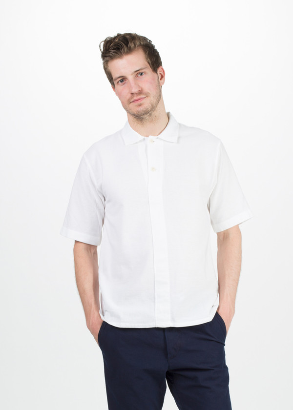 Men's MHL by Margaret Howell Jersey Polo Shirt