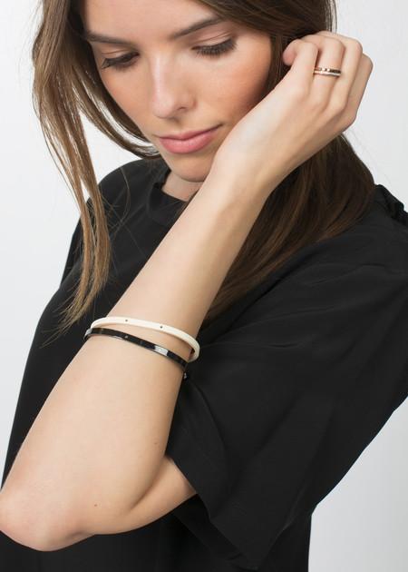 Ginette NY Diamond TV Ring - Rose Gold