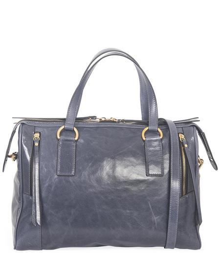 Gianni Chiarini Jeans Leather Handbag - Blue