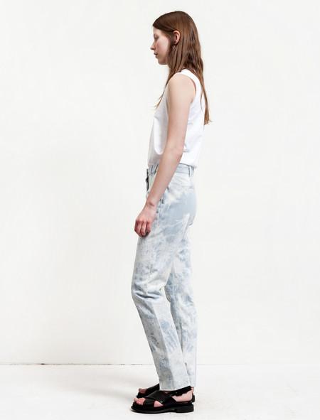 Thakoon Shibori Dyed Jeans - ICY BLUE