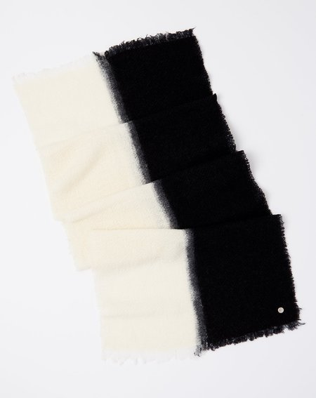 Destin Melisabi Scarf - Off White/Black
