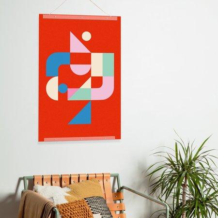 Poketo Shapes in Motion Print
