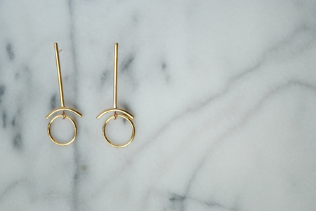 Seaworthy Retrograde Earring