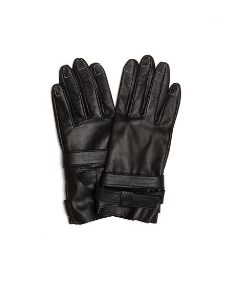 Yohji Yamamoto Black Leather Gloves