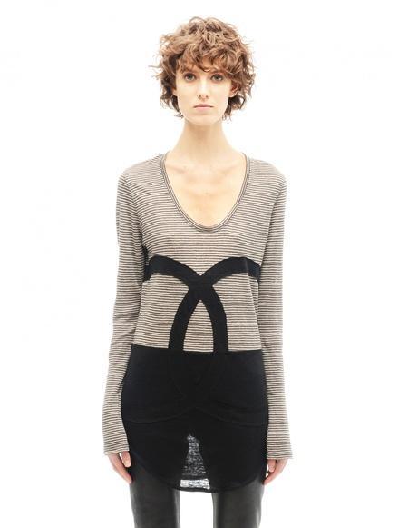Share Spirit Linen long sleeve t-shirt - Beige