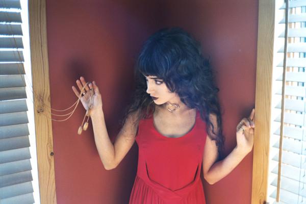 Degas Dress - Crimson