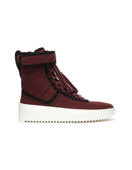 Fear of God Military Sneakers - Burgundy
