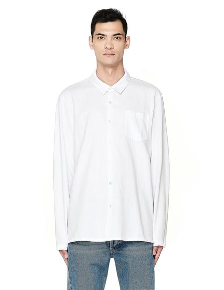 James Perse  White Cotton Shirt