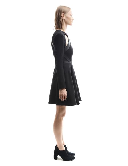 David Koma Cut Out Midi Dress - Black
