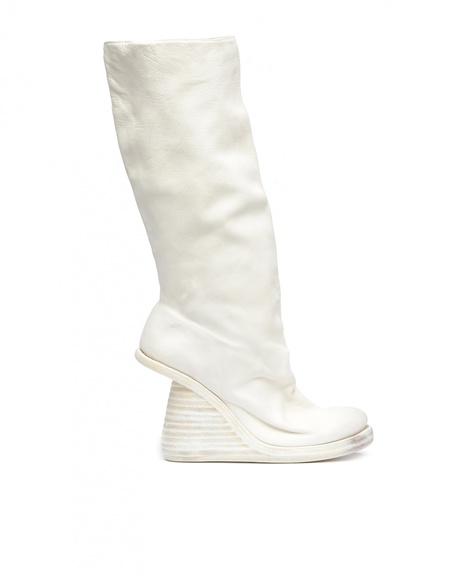 Guidi Leather Boots - White