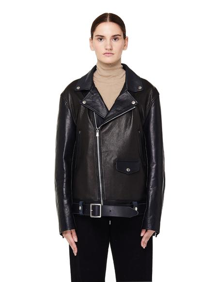 Hender Scheme Not Riders Leather Jacket - Black