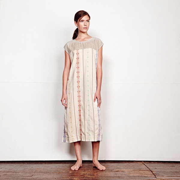 ACE & JIG TULUM DRESS - SUNKISSED