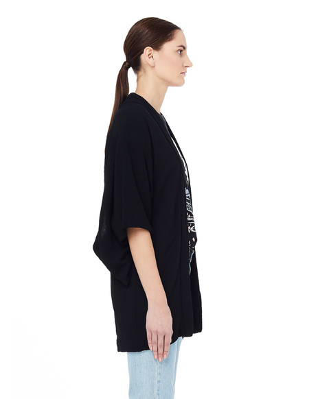 Blackyoto Toko Black Silk Kimono