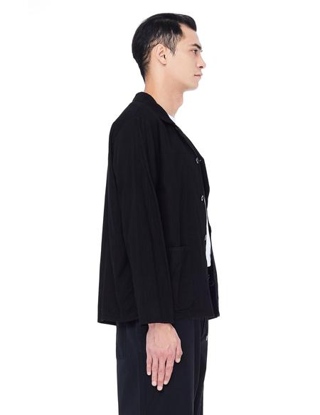 Blackyoto Black Cotton Jacket
