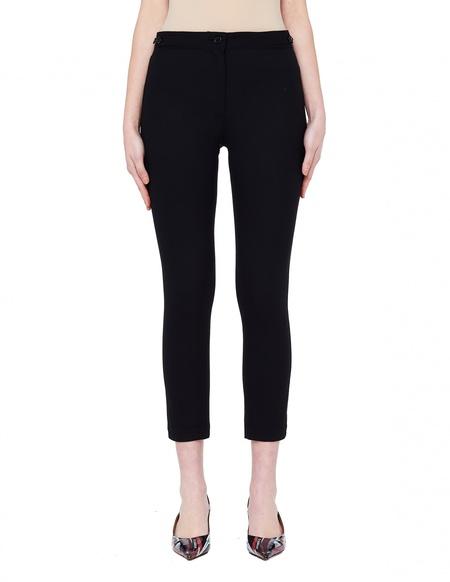Ann Demeulemeester Boulevard Black Wool Trousers
