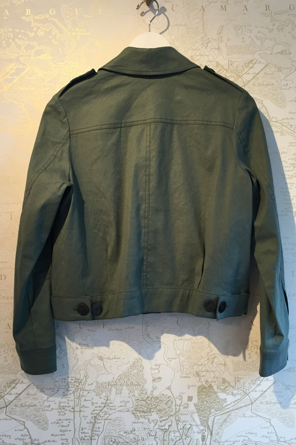 Derek Lam 10 Crosby Cotton/Linen utility jacket