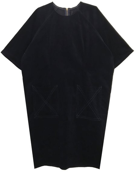 L.F.Markey Alexandre Dress - Midnight