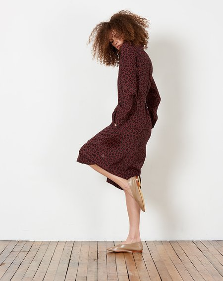 A.P.C. Karen Dress - Maroon