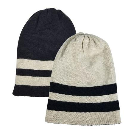 Hat Attack Reversible Beanie - Stripe