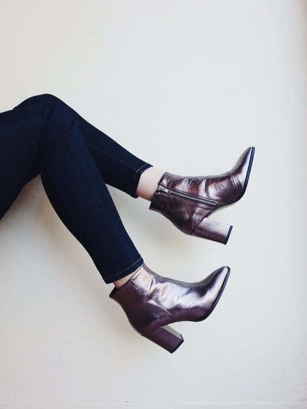 L'Intervalle Merco Boots (Gunmetal)