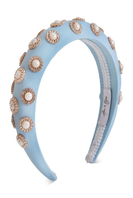 Alice & Blair Sienna Headband - Blue